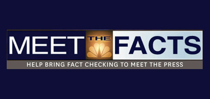 Distressed that NBC's Meet the Press has devolved into a platform for unchallenged, incorrect statements by politicians, two college students […]