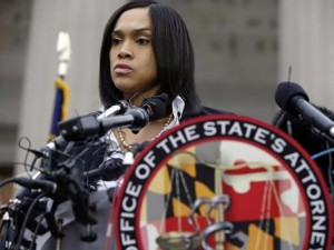Marilyn Mosby, Baltimore's prosecutor, announced criminal charges against all six officers suspended after Freddie Gray suffered a fatal spinal injury while in police custody.