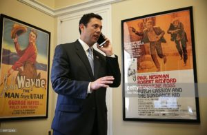 Chaffetz on phone